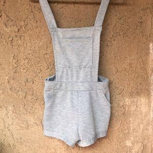 NWOT Gray overalls!